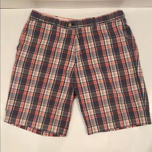 jack Spade Bleeker Street plaid shorts. Size 32